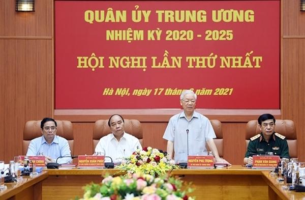 Ba lãnh đạo chủ chốt tham gia Thường vụ Quân ủy Trung ương