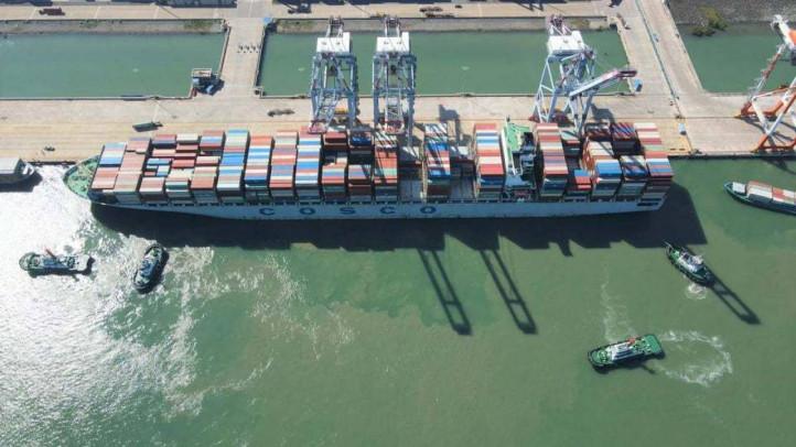 Hãng tàu COSCO và OOCL đưa tuyến dịch vụ mới đi Mỹ vào cảng CMIT