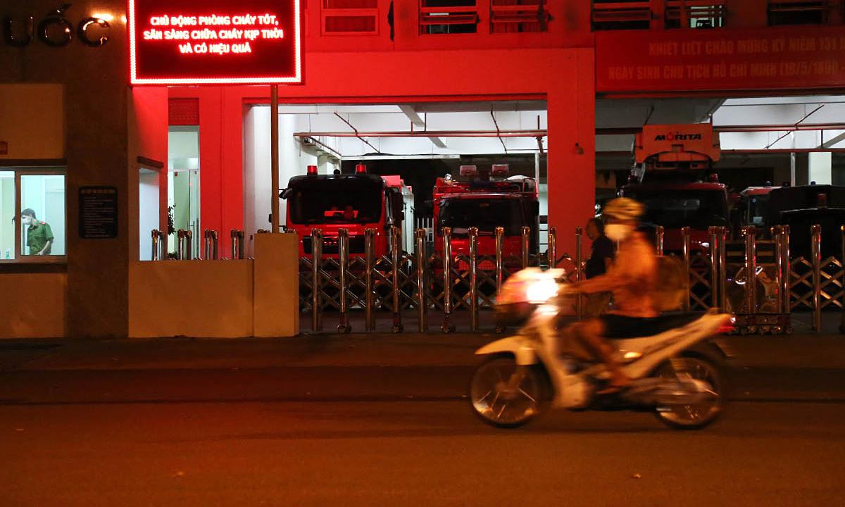 Tạm phong toả trụ sở Phòng cảnh sát chữa cháy TP HCM