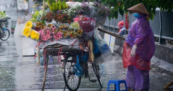 Khu vực Đông Bắc Bộ và Hà Nội chuyển mưa rét