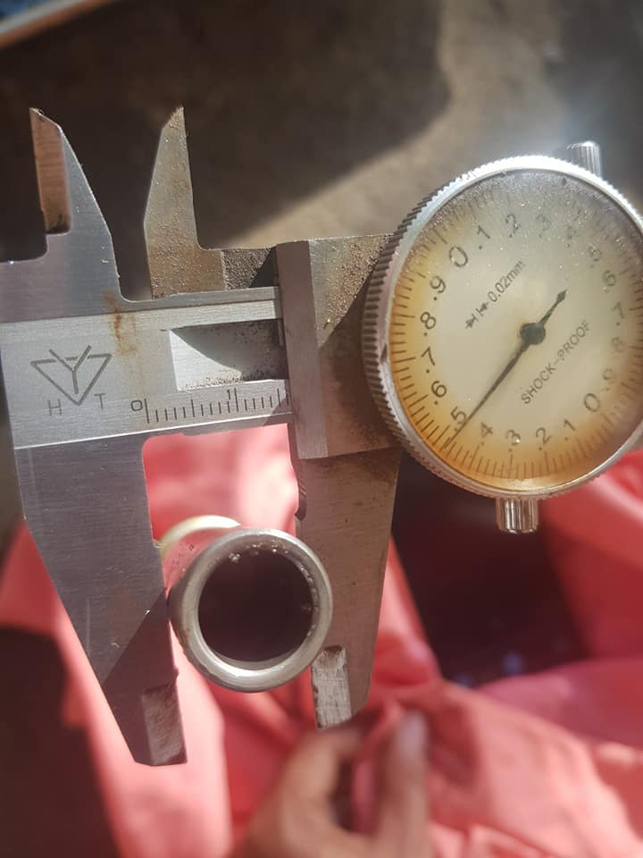 Bộ Pittong 16.5mm, dài 50mm