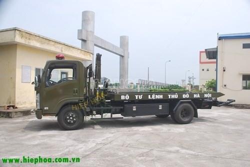 Xe cứu hộ ISUZU NQR75L CAB CHASSIS/HIEPHOA-KCX 3.5 tấn