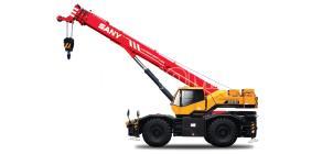 Cẩu bánh lốp SANY SRC550H