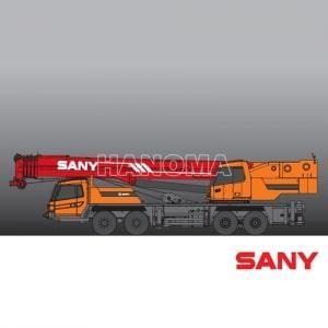 Cẩu bánh lốp SANY STC800S