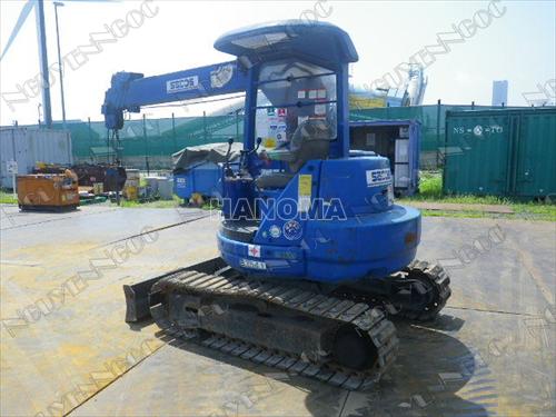 Cẩu mini KOMATSU PC38UU-2-7433 2.9 tấn