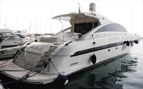 Du thuyền JAGUAR  80FT
