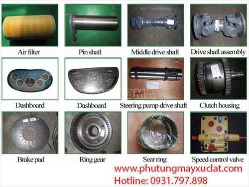 Phụ tùng máy ủi Shantui SD22