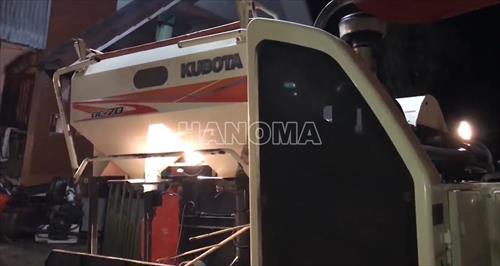 Máy gặt đập liên hợp 2016 KUBOTA DC 70