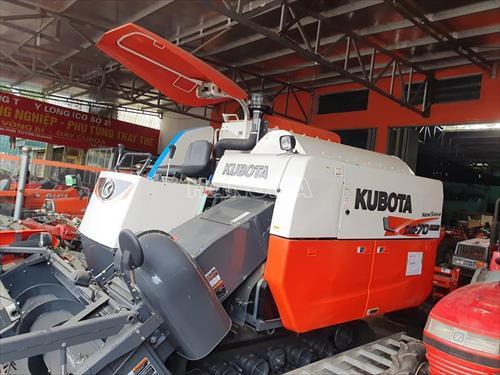 Máy gặt đập liên hợp KUBOTA DC70 PLUS