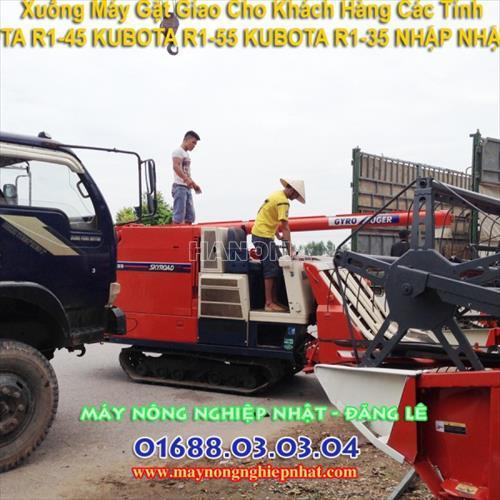 Máy gặt đập liên hợp KUBOTA R1-40 MỚI 85%