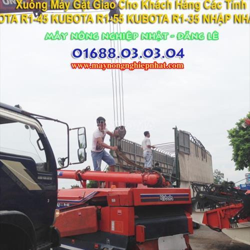 Máy gặt đập liên hợp KUBOTA R1-40 MỚI 80%