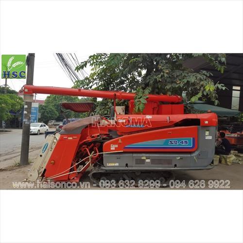 Máy gặt đập liên hợp KUBOTA SR45
