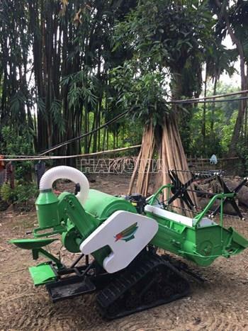 Máy gặt đập liên hợp TQ 4LZ - 0.6