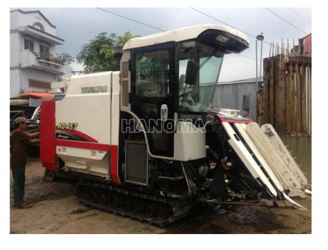 Máy gặt đập liên hợp YANMAR AG467