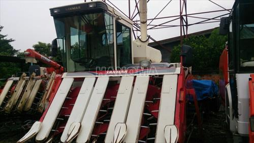 Máy gặt đập liên hợp YANMAR GC90 2012