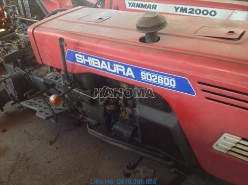Máy kéo SHIBAURA SD2600