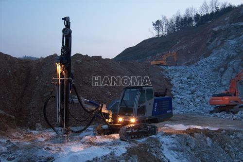 Máy khoan đá SOOSAN STD 11 62-105  mm