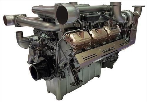 Máy phát điện DOOSAN VIN-900DMS 900KVA