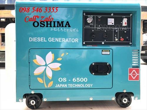 Máy phát điện OSHIMA 6500