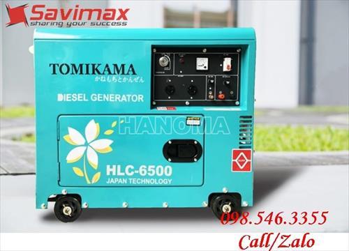 Máy phát điện TOMIKAMA HLC 6500