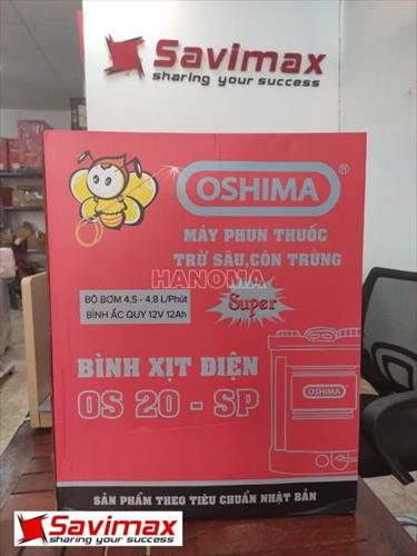 Máy phun thuốc OSHIMA OS20 SP