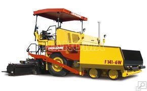 Máy rải thảm DYNAPAC DF115P/D bánh lốp 600 t/h