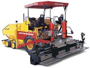 Máy rải thảm DYNAPAC F121-6W/D bánh lốp 600 t/h