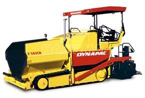 Máy rải thảm DYNAPAC F141CR bánh xích 750 t/h