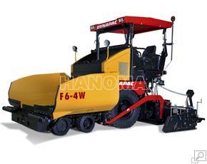Máy rải thảm DYNAPAC F6-4W bánh lốp 250 t/h
