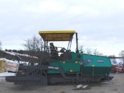 Máy rải thảm VOGELE S2100-1 2005