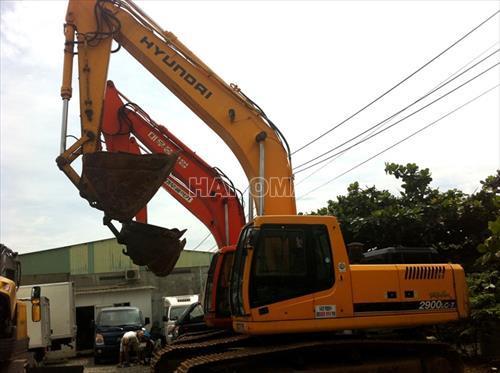 Máy xúc đào bánh lốp HYUNDAI ROBEX 2900LC-7
