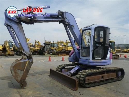 Máy xúc đào bánh lốp KOMATSU PC75UU-2