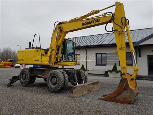 Máy xúc đào bánh lốp KOMATSU PW150ES-6K 2000 K30230