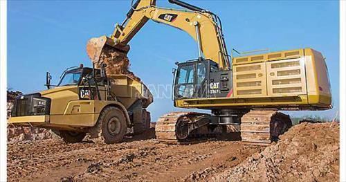 Máy xúc đào bánh xích CAT 374F L 2017
