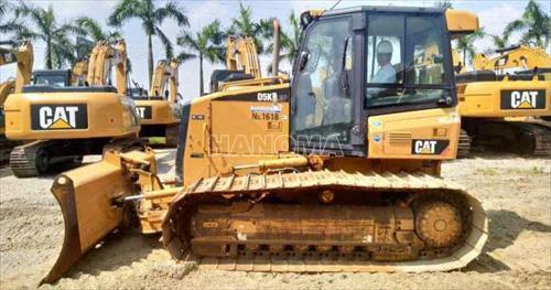 Máy xúc đào bánh xích CAT D5K LGP 2010 JLF00237