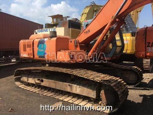 Máy xúc đào bánh xích 2006 HITACHI EX 220LC-3