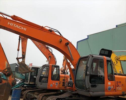 Máy xúc đào bánh xích HITACHI ZAXIS 200 213