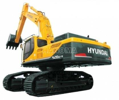 Máy xúc đào bánh xích HYUNDAI ROBEX 520 LC-9 2018