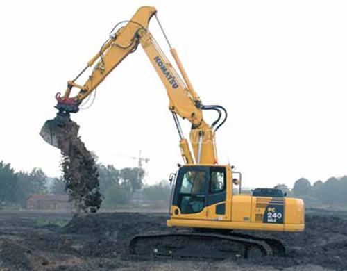 Máy xúc đào bánh xích KOMATSU PC 240-6 2002