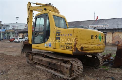 Máy xúc đào bánh xích KOMATSU PC120-6E 61929