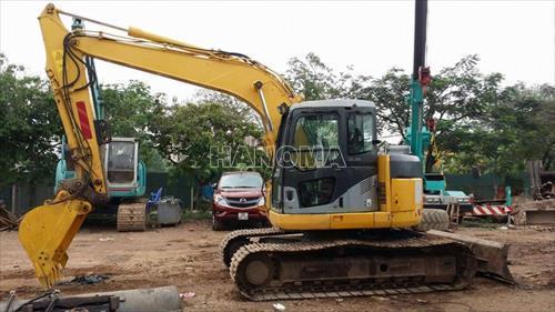 Máy xúc đào bánh xích KOMATSU PC138US-2E1