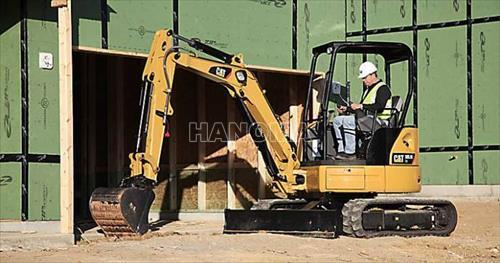 Máy xúc đào Mini CAT 303.5E CR 2018