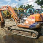 Máy xúc đào Mini HITACHI EX 30-3