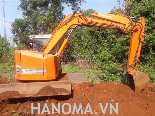Máy xúc đào Mini HITACHI EX50URG