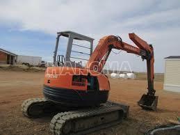 Máy xúc đào Mini HITACHI EX55UR