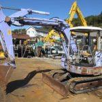 Máy xúc đào Mini HITACHI EX55UR-3 5765