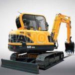 Máy xúc đào Mini HYUNDAI R60-9S
