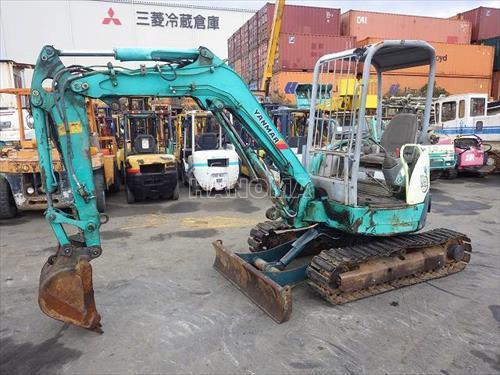 Máy xúc đào Mini YANMAR VIO35-2 0.11m3