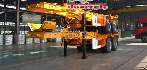 Sơ mi - Rơ moóc JUPITER FTW9407TJZG Xương 2 Trục 20 Feet