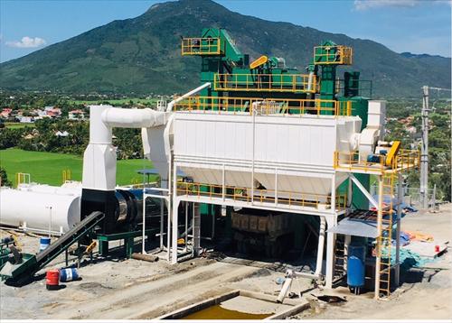 Trạm trộn bê tông nhựa nóng 2020 VN TB AP 1500CB-CK-TĐ